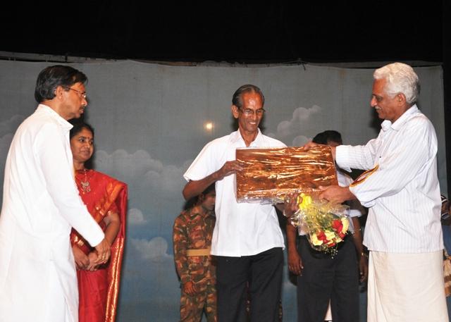 Samajam Felicitation - K G Nair-2
