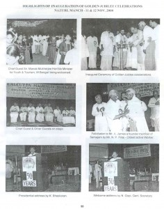Golden Jubilee celebration 2001-02
