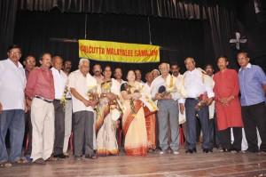 Felicitation to Oldest  members & dignitaries