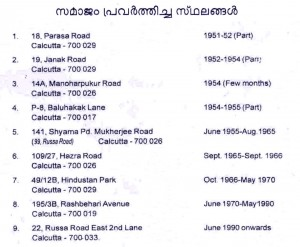 Samajam -Old address